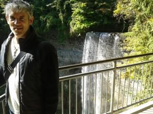 Ian at Tew's Falls