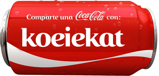 Coke You font Spanish?
