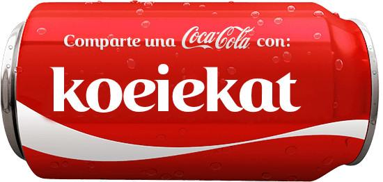 Coke You font Spanish?