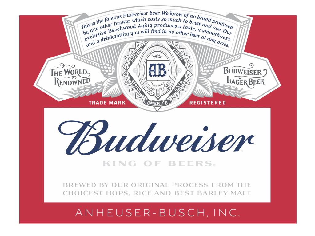 Budweiser by Ian Brignell (2015)