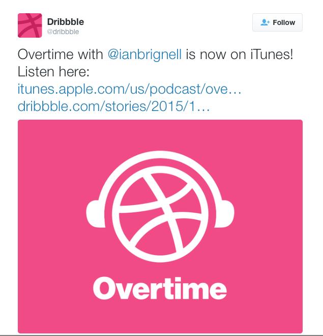 Dribble plus Ian Brignell equals Itunes podcast