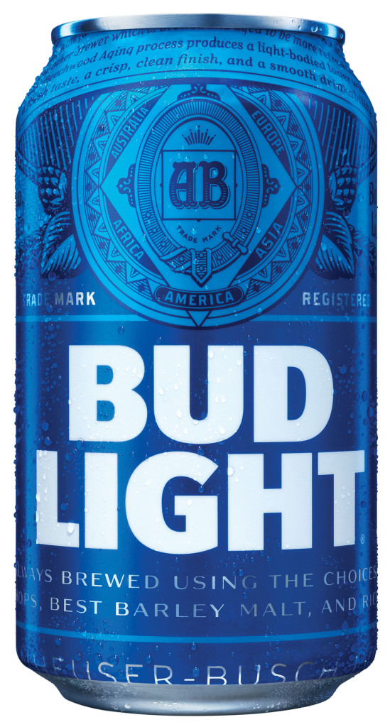 new BUD Light logo by Ian Brignell
