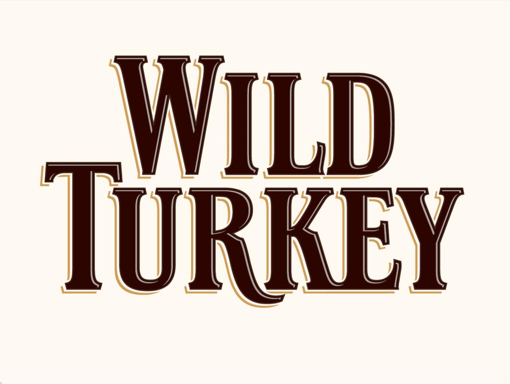 new Wild Turkey logo by Ian Brignell, 2016. ian@ianbrignell.com